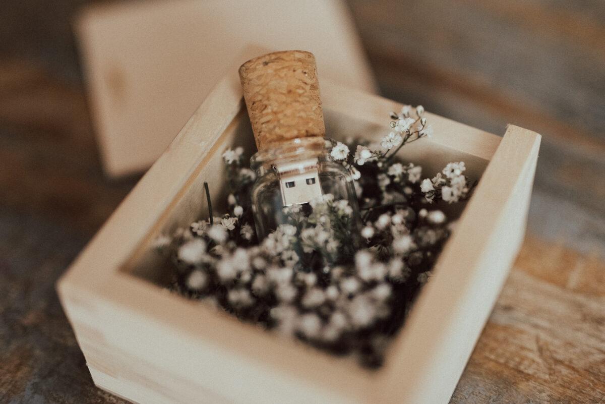 Flasche USB Stick Fotograf