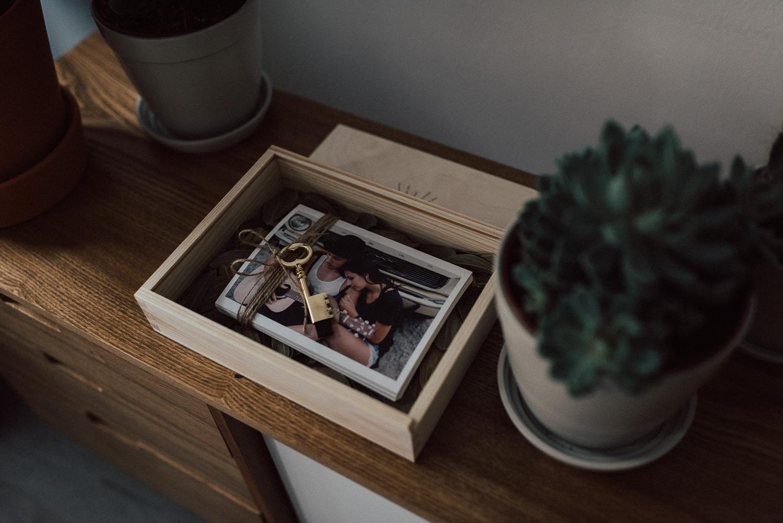 Holzbox für Fotografen