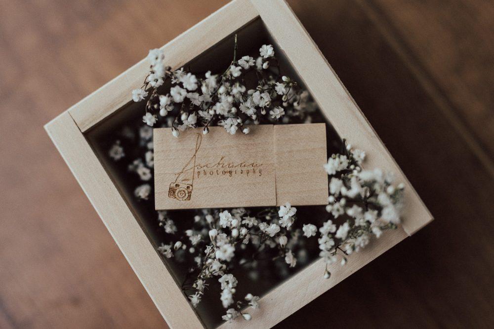 Holz USB Stick Logo Fotograf