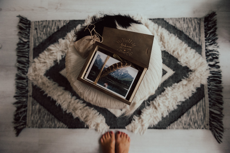 Holzschachtel für Fotografen