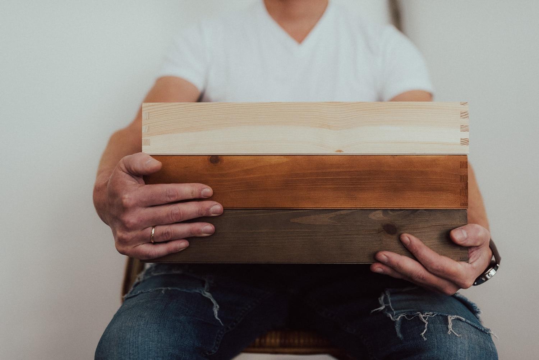 Holzschachteln für Fotografen