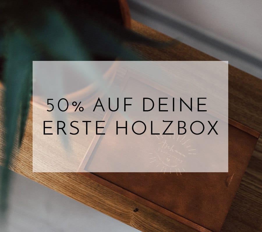 Rabatt holzbox fotograf