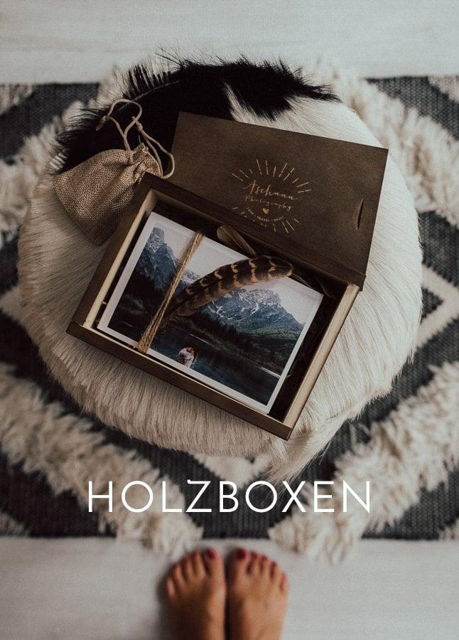 Holzschachtel fotograf