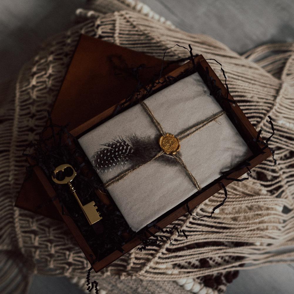 Holzbox magnet fotograf
